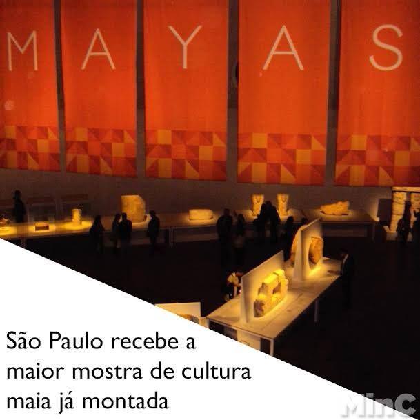 Até 24/08 no Museu da cidade - OCA - dentro do Parque do Ibirapuera.