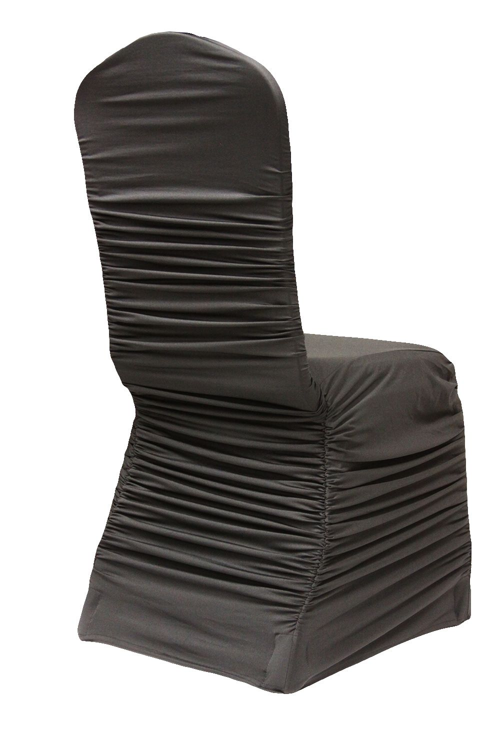 Ruched Fashion Spandex Banquet Chair Cover Black Banquet Chair Covers Spandex Chair Covers Chair Covers
