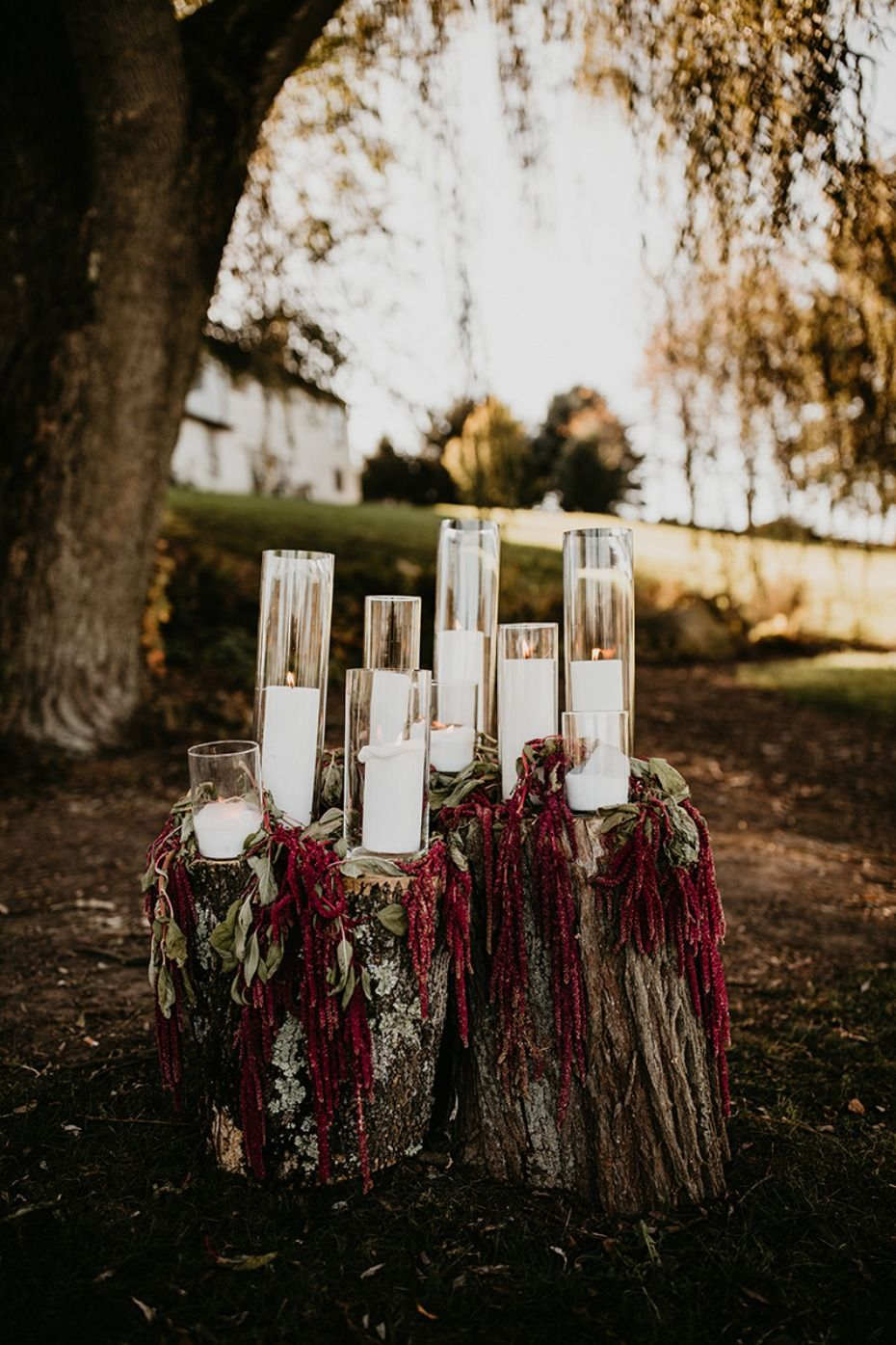 Moody Outdoor Romance Wedding With Gorgeous Diy Flowers Candle Wedding Decor Arch Decoration Wedding Wedding Aisle Decorations