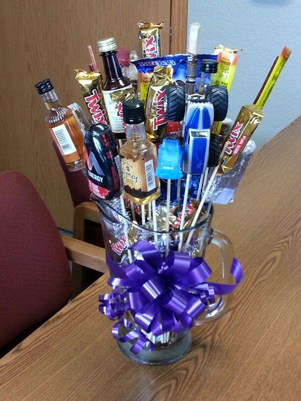 Cute idea in lieu of flowers   candy bouquets   Pinterest ...