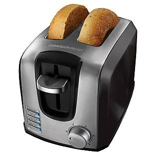 Black and Decker 2 slice toaster  $26.99 011W024810860001