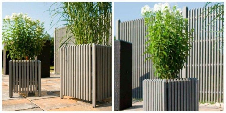 jardineras modernas | Jardín | Pinterest