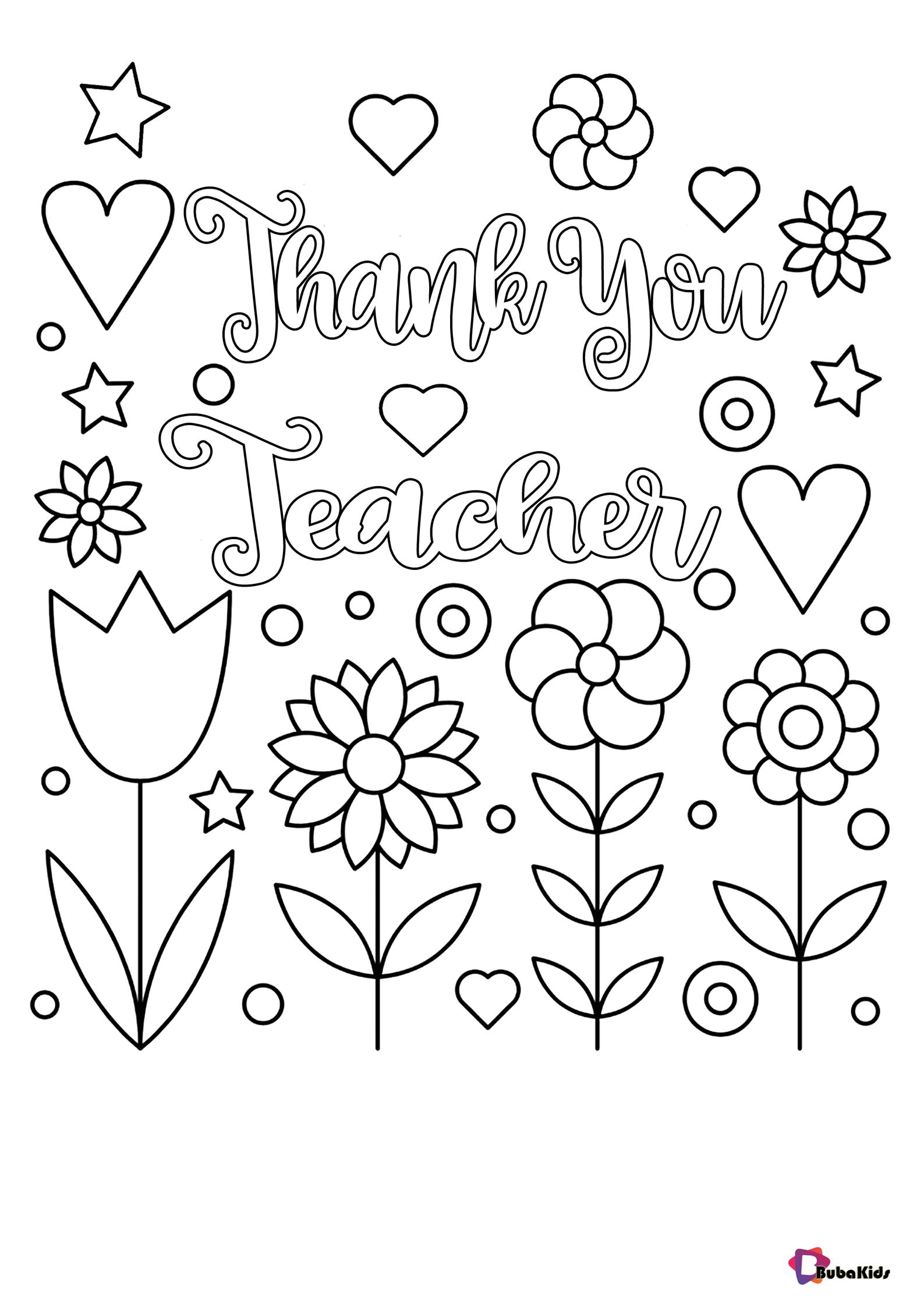 Teacher Appreciation Day Coloring Pages Thank You Teacher Collection Of Cartoon Col Mothers Day Coloring Sheets Mothers Day Coloring Pages Mother S Day Colors