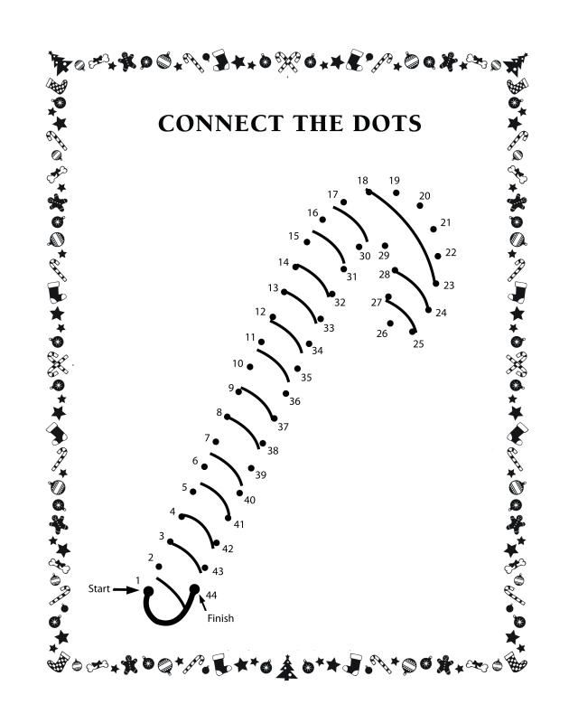 Connect the dots activity sheets Connect the Dot Dots