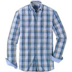 Photo of Olymp casual shirt, modern fit, button-down, natural, Xxl Olymp