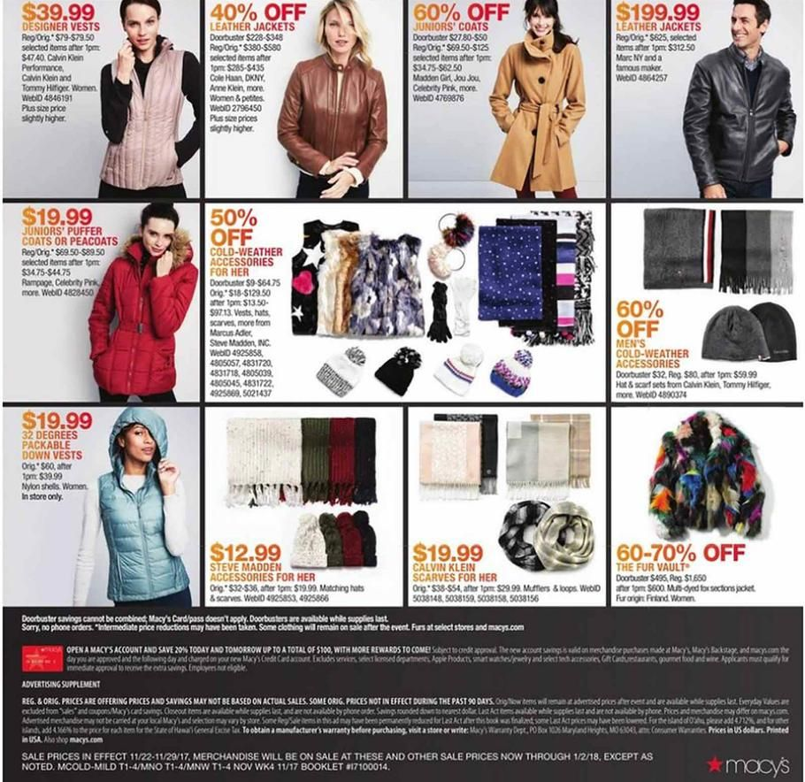 dfe71608b4367 Macys Black Friday 2017 Ads and Deals If you love designer bags and shoes