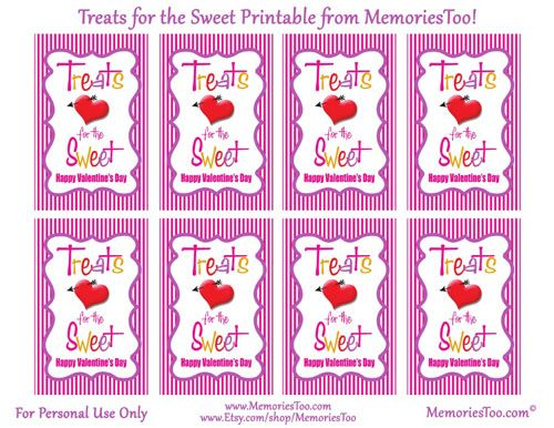 Free printables for Valentines Conversation Heart Candy. Featured ...