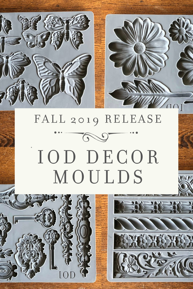 New Release Iod Moulds Fall 2019 Iron Orchid Designs Furniture Appliques Decor Project