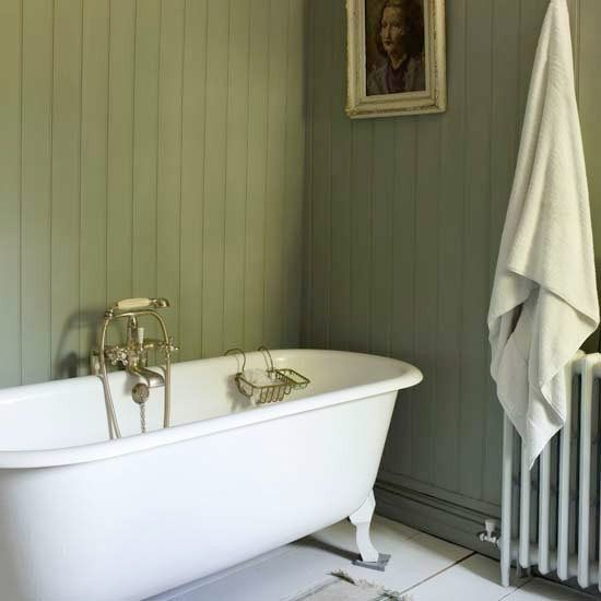badrum lantlig stil