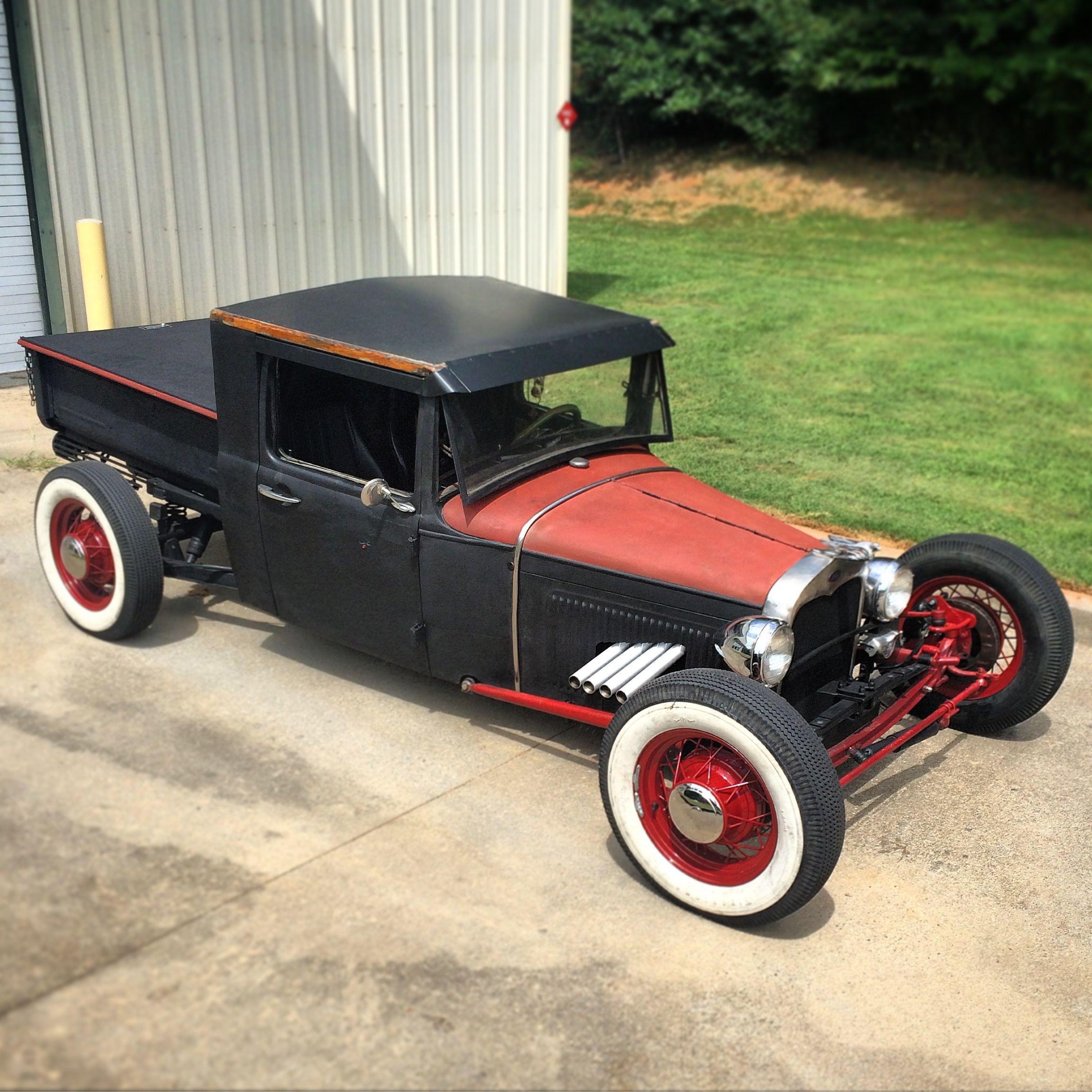 #1931 #Ford #ModelA #Pickup #Zoomies #Header