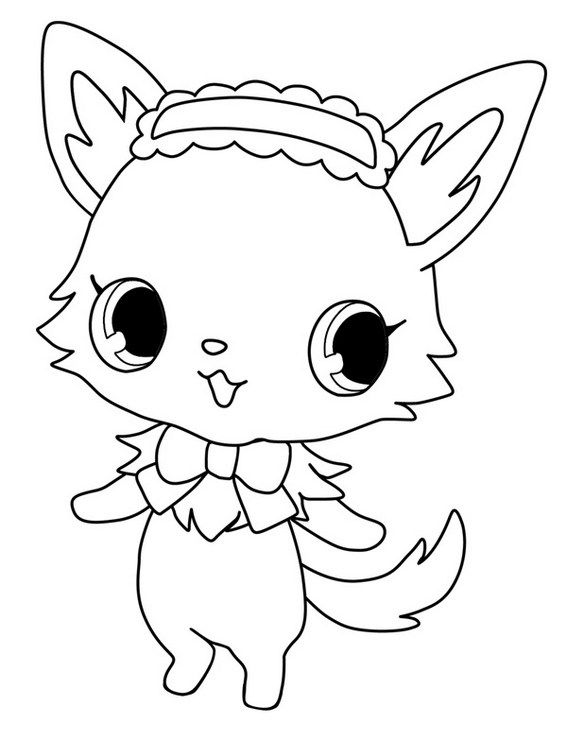 Best Jewelpet Sweetspets Coloring Sheet | Jewelpets Coloring Sheets ...