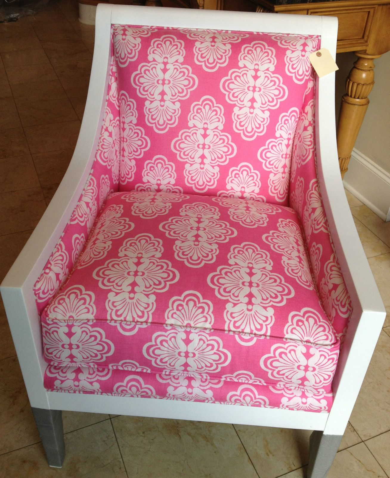 Lilly Pulitzer Chair Covers For Events Furniture Pink And White Meghan New