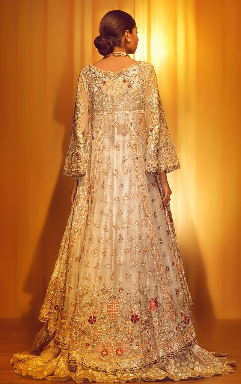 Best wedding dresses karachi  This beautiful Pakistani party wear dress by pakistani wedding