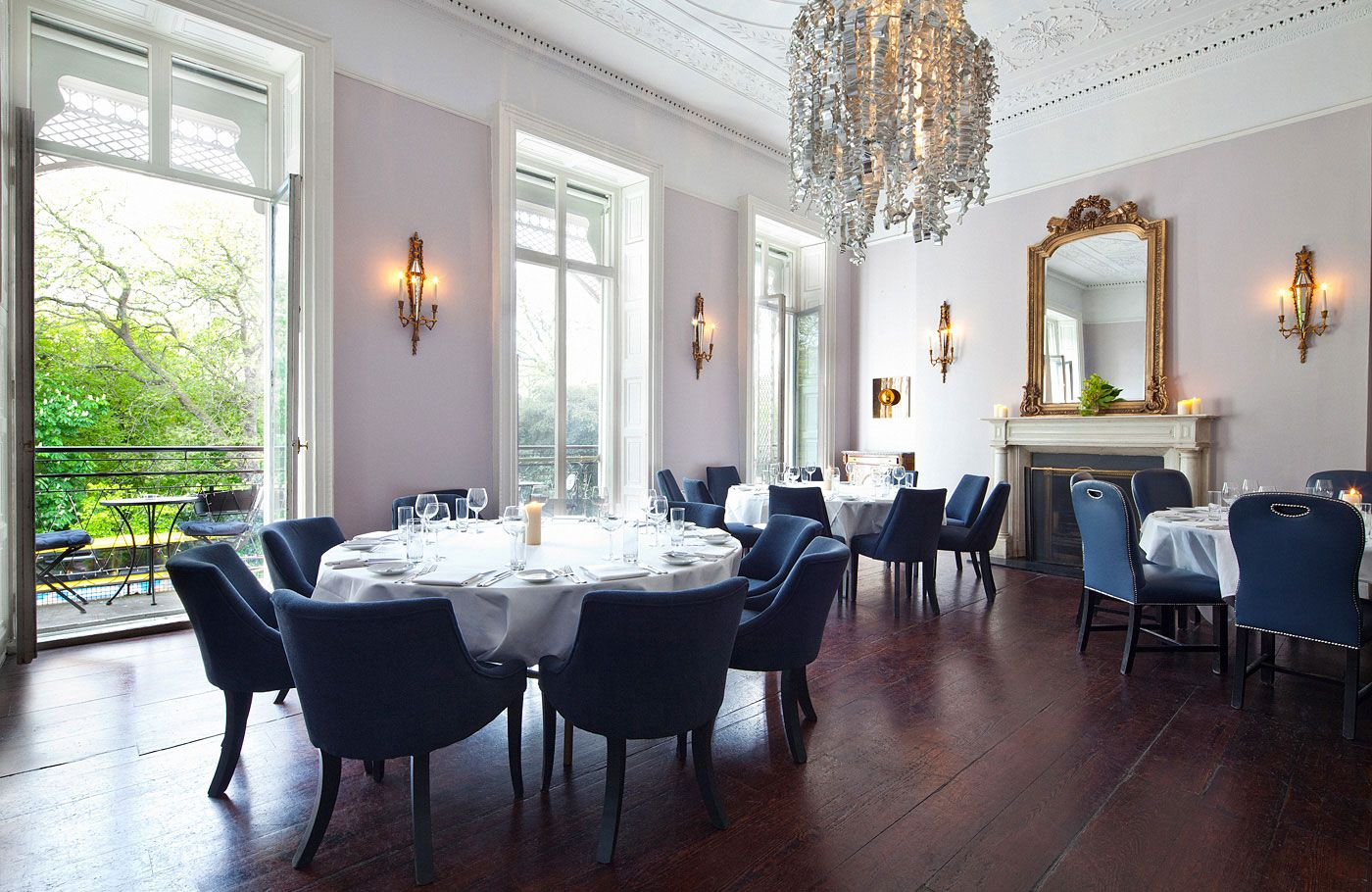 Marvelous Cliff Town House, Dublin | Upstairs: Private Dining Room Part 7