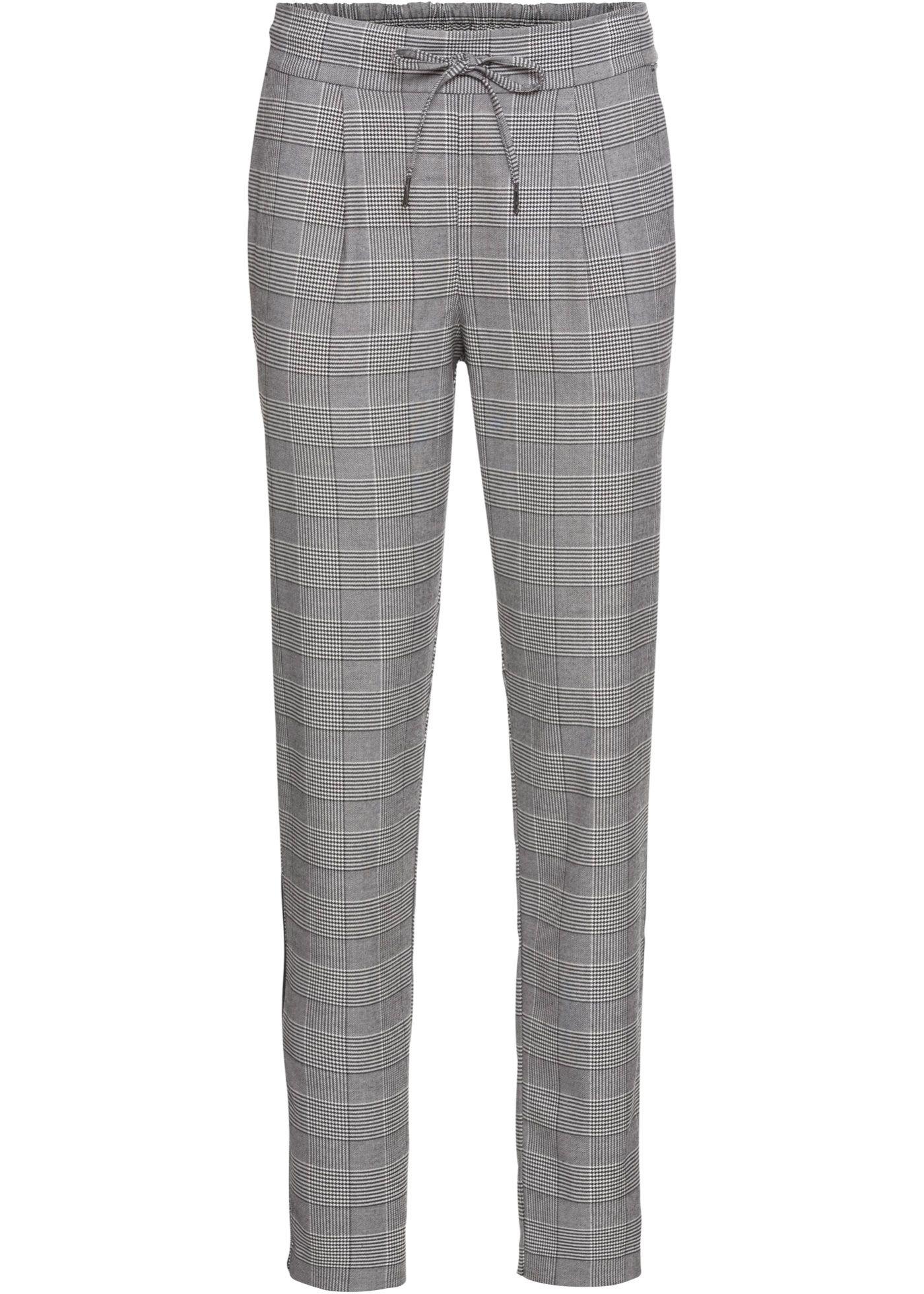 Hose Mit Streifeneinsatz Hosen Damen Gerade Hosen Und Hosen