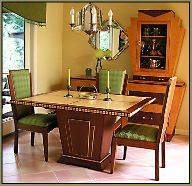 Art Deco Dining Set More