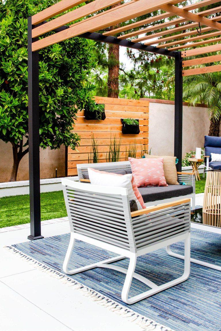 Backyard Makeover Patio Furniture Anita Yokota Modern Outdoor Patio Modern Patio Modern Patio Design