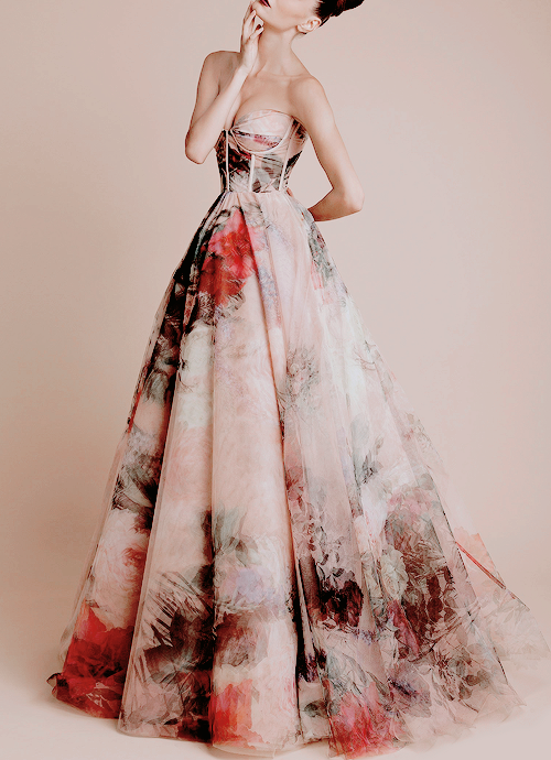 Rani zakhem watercolor dress