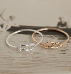 Love Conviction Infinity Ring, $49.95.
