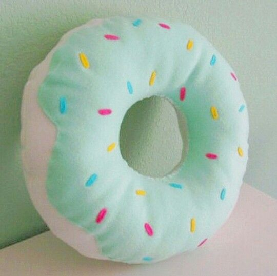 Donut Pillow With Images Donut Pillow