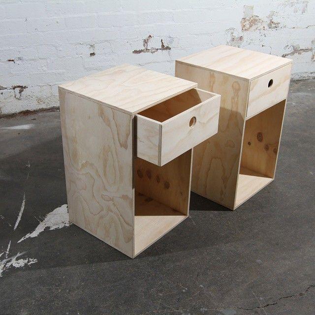 Simple bedside like butter bedroom pinterest plywood simple bedside like butter watchthetrailerfo