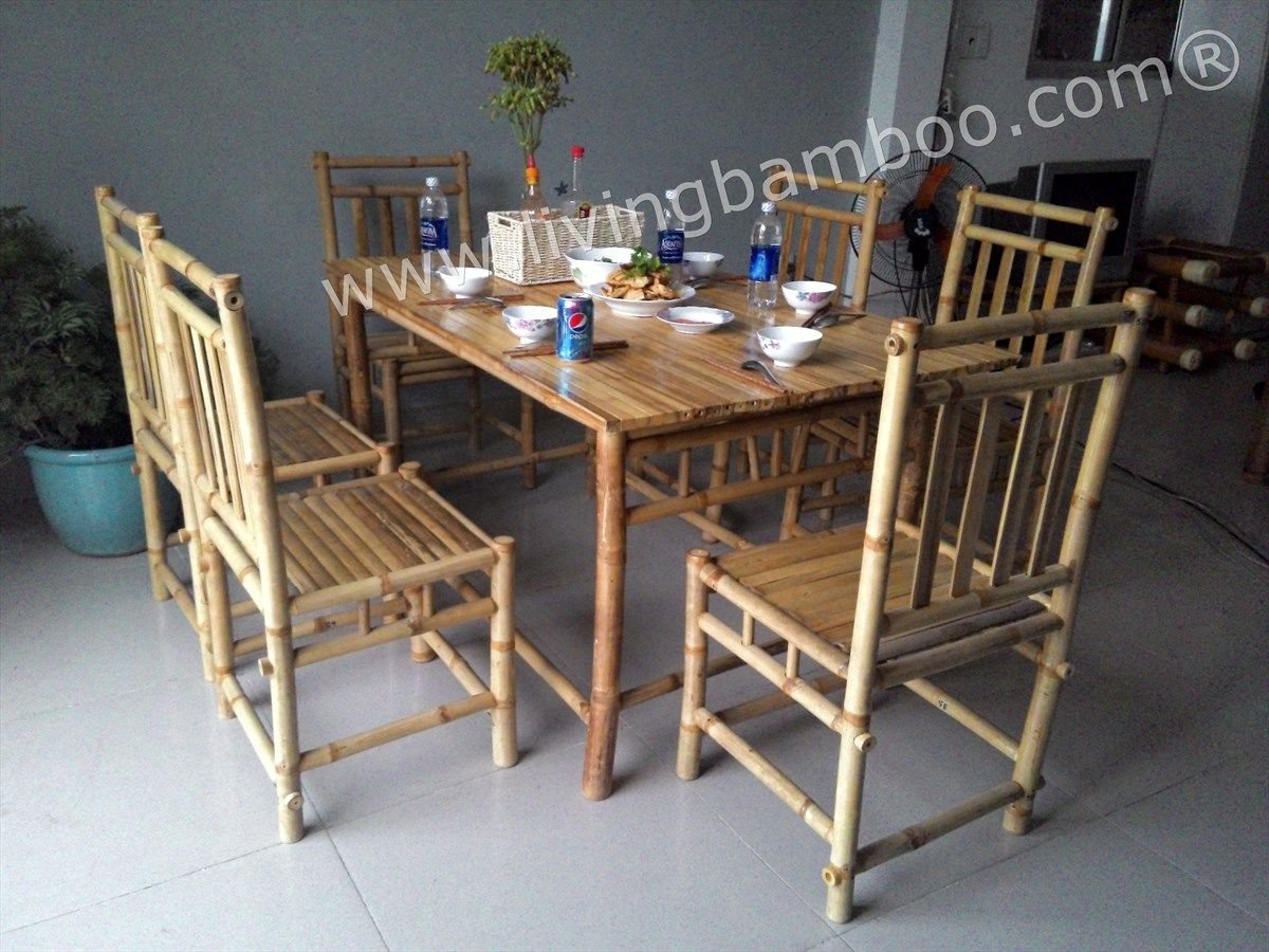 15 Awesome Concepts of How to Make Bamboo Living Room Set ...
