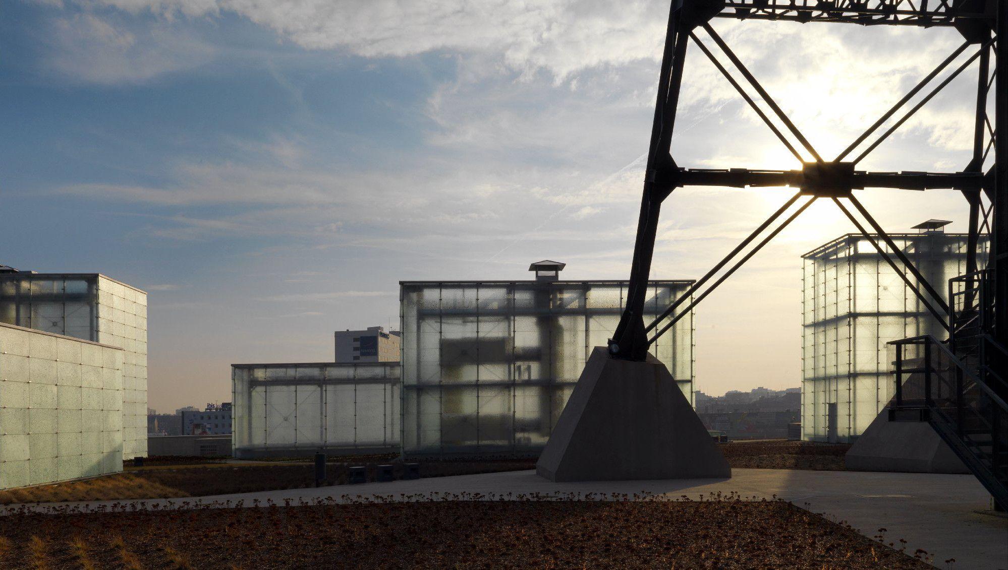 Schlesisches Museum in Katowice - Glas - Kultur - baunetzwissen.de