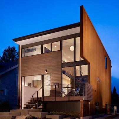 Fachadas de madera de casas modernas fotos construye hogar cada la huayca en 2018 - Construye hogar ...