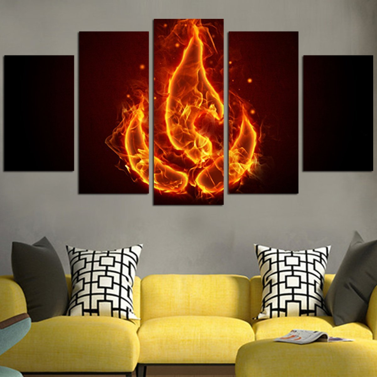Pin On 5 Piece Wall Art Canvas