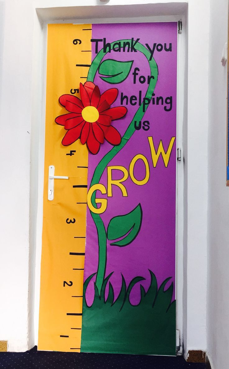 incredible Thank You Bulletin Boards Ideas Part - 16: Thank you for helping us grow.!! Bulletin boards, spring , kindergarten,  school, preschool, flower, growing, help, Cambridge school of Bucharest,  kids, ...