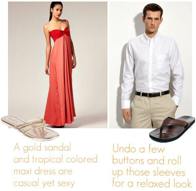 What Do Men Wear To A Beach Wedding