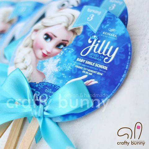 Resultado de imagen para frozen invitations handmade