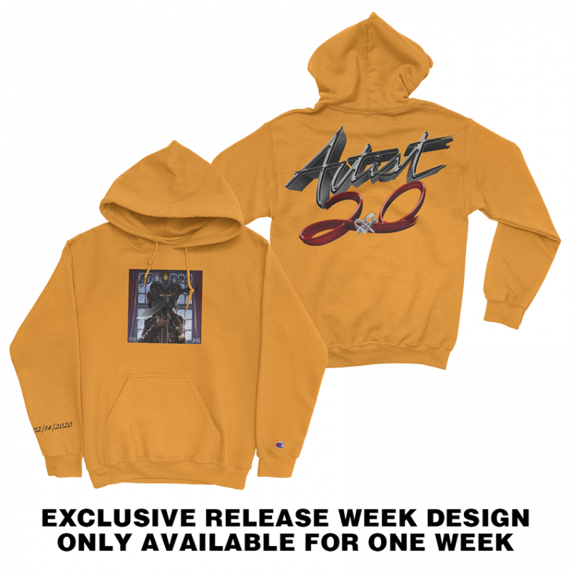 Artist 2.0 Hoodie Gold Digital Album in 2020 Hoodies