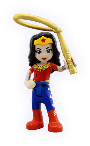 Super Girl DC Custom Minifig Mini Figure 132