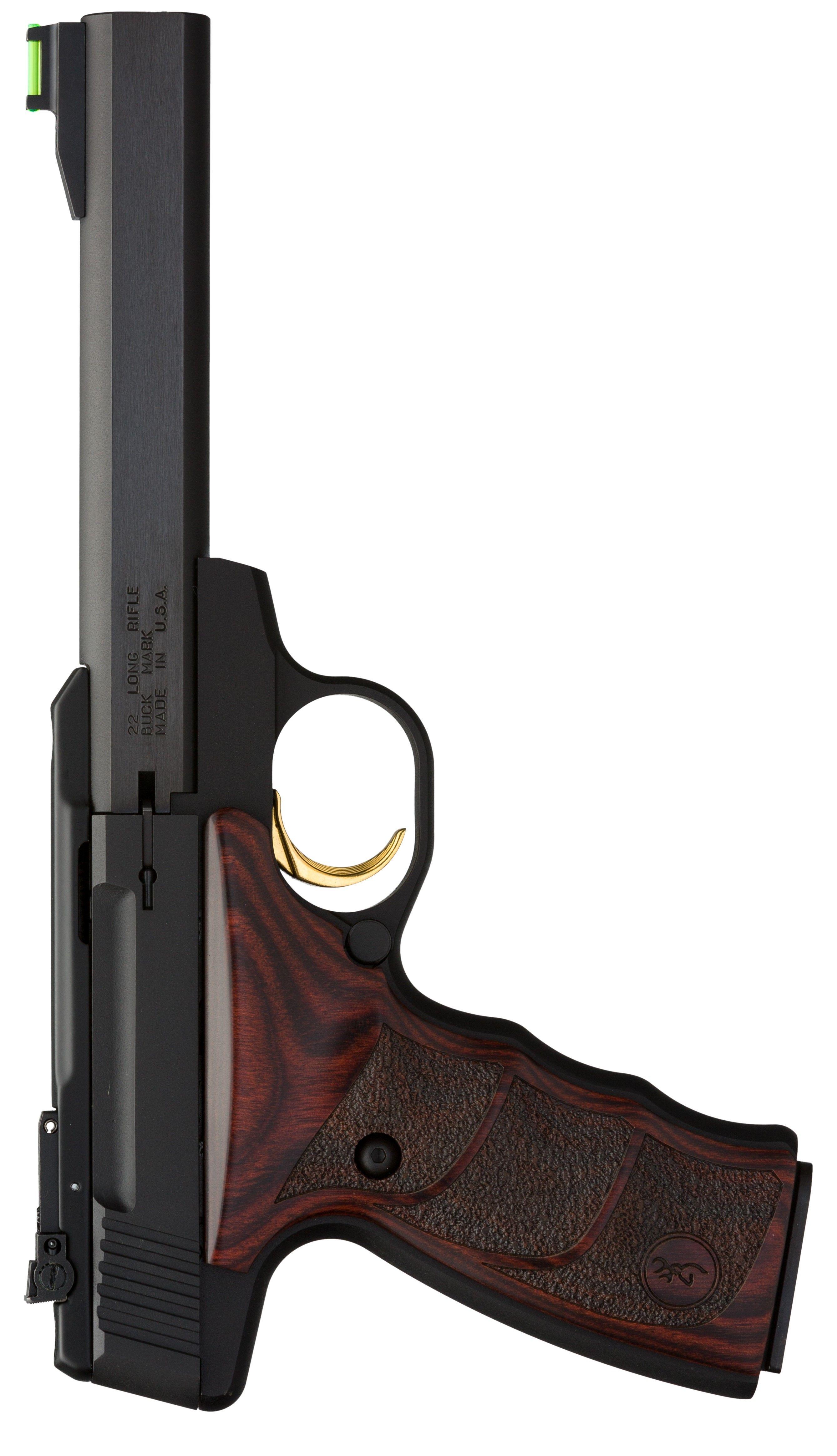 Browning Buck Mark Plus Rosewood Udx 540 Msrp Alloy Receiver Blued Finish Slab Side Barrel Brown Wood Textured Grips Fin Guns Military Guns Guns Pistols