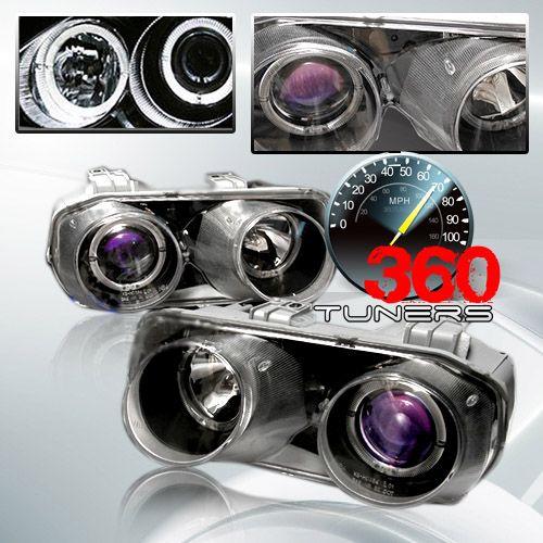 94-97 Acura Integra Halo Projector Headlights, With Xenon