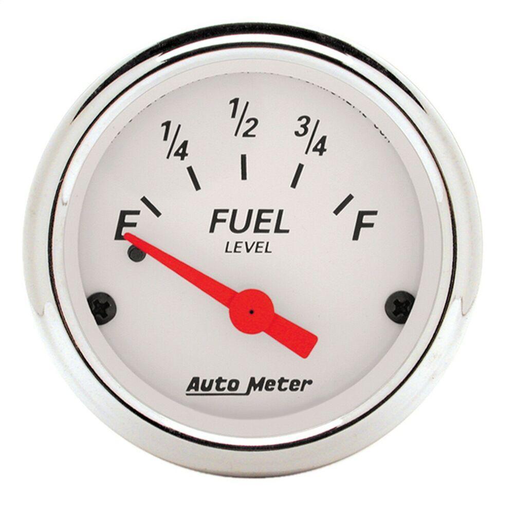 sponsored ebay) 1318 autometer 1318 arctic white fuel level autometer phantom gauges at night gauges arctic white
