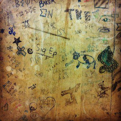 Sushipot: School Desk Graffiti | School | Old school desks ...