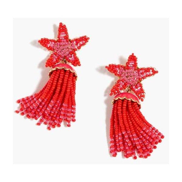 J crew star earrings