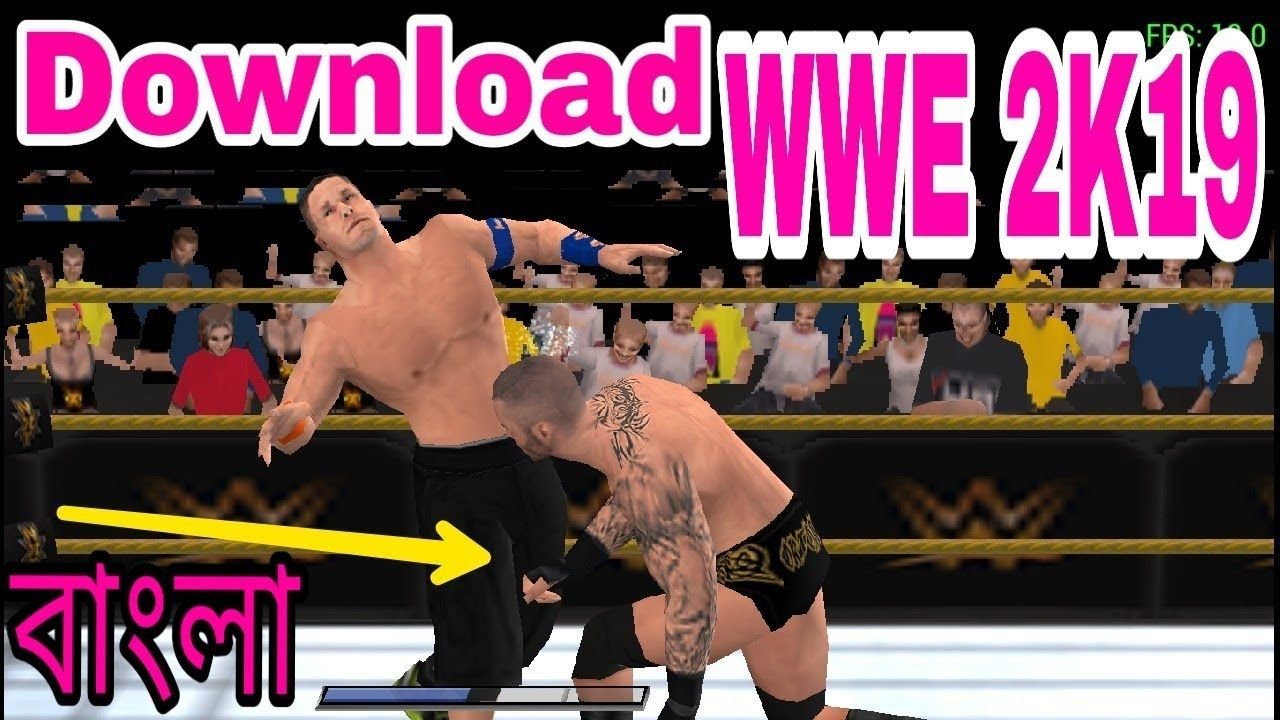 Download And Install WWE 2K19 Android PSP Mod | PPSSPP WWE 2k19 Offline ...  | Wwe game download, Wwe game, Game download free