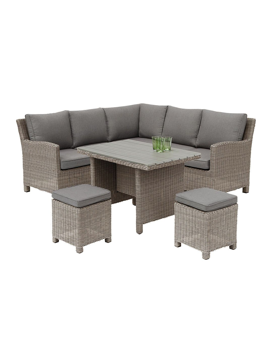 Kettler Palma 6 Seater Garden Mini Corner Table And Chairs Set Rattan In 2020 Table Chair Sets Corner Table Table Chairs
