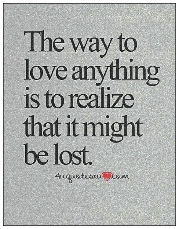Some simple love advise....