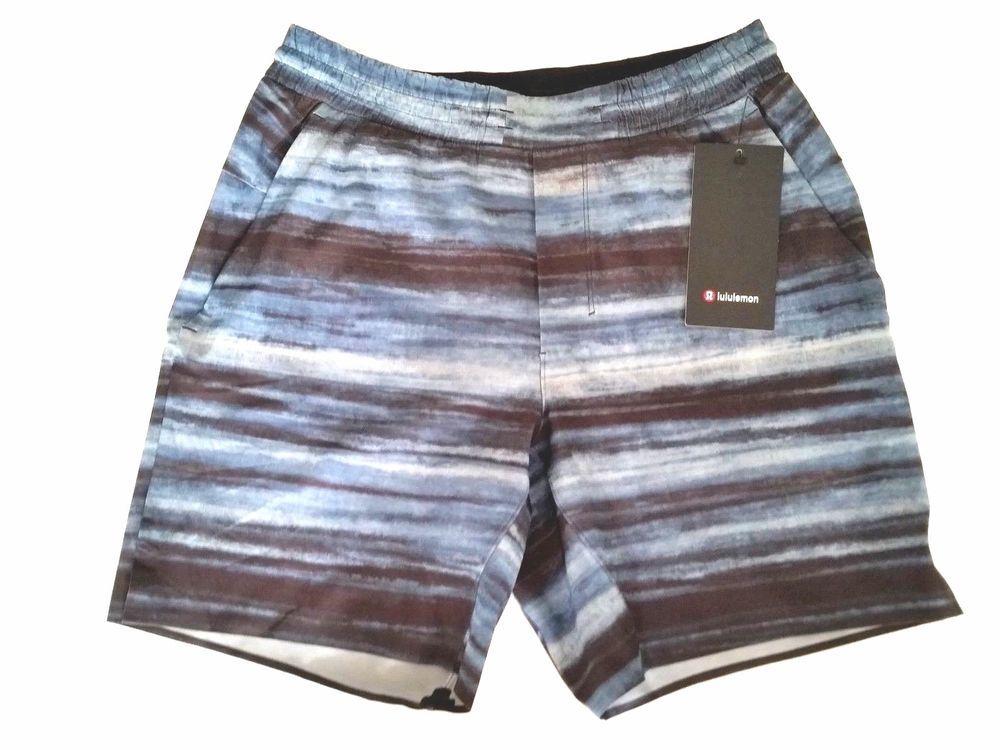 5bd827c263 Lululemon Mens Channel Cross Short Swim Size XL 34