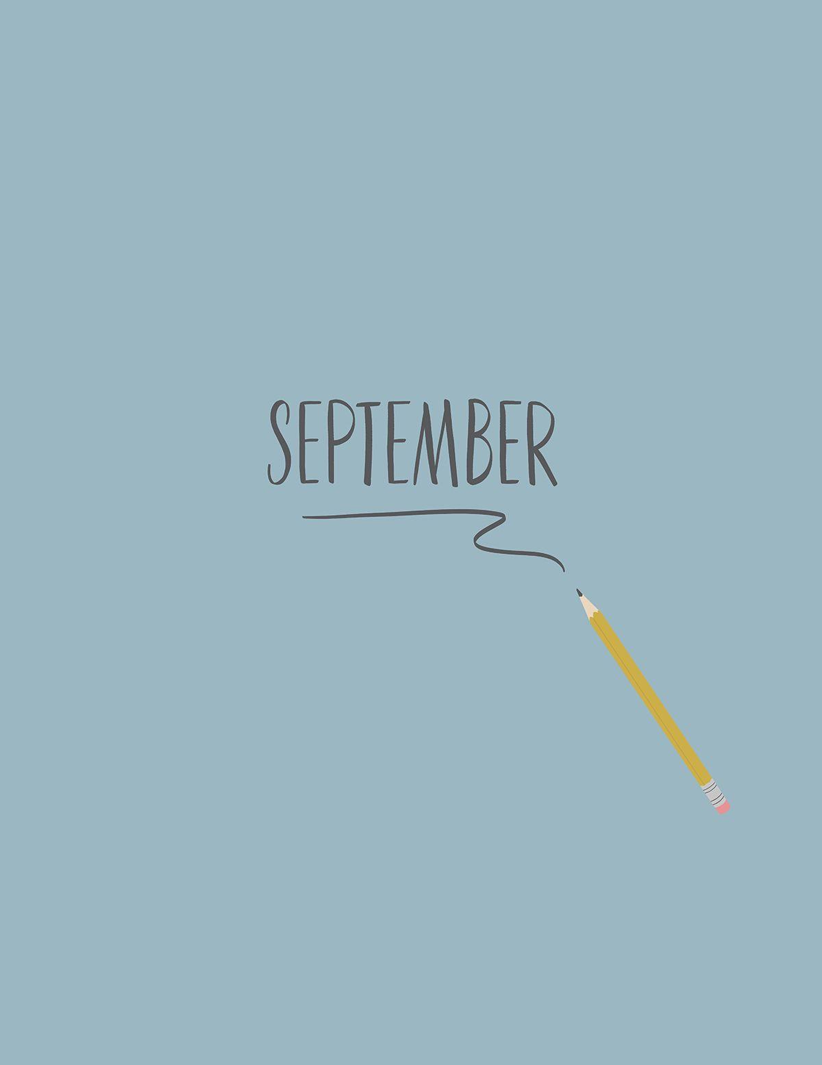 Hello, September! [Digital Download] - Monika Hibbs