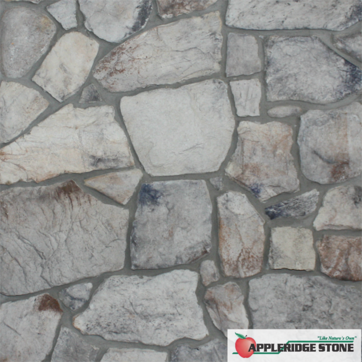 Appleridge Stone Stone Veneer Our Gray Color Blends Light Gray Medium Gray And Blue Gray With Small Amounts Of Mute Choco Stone Pattern Stone Veneer Color