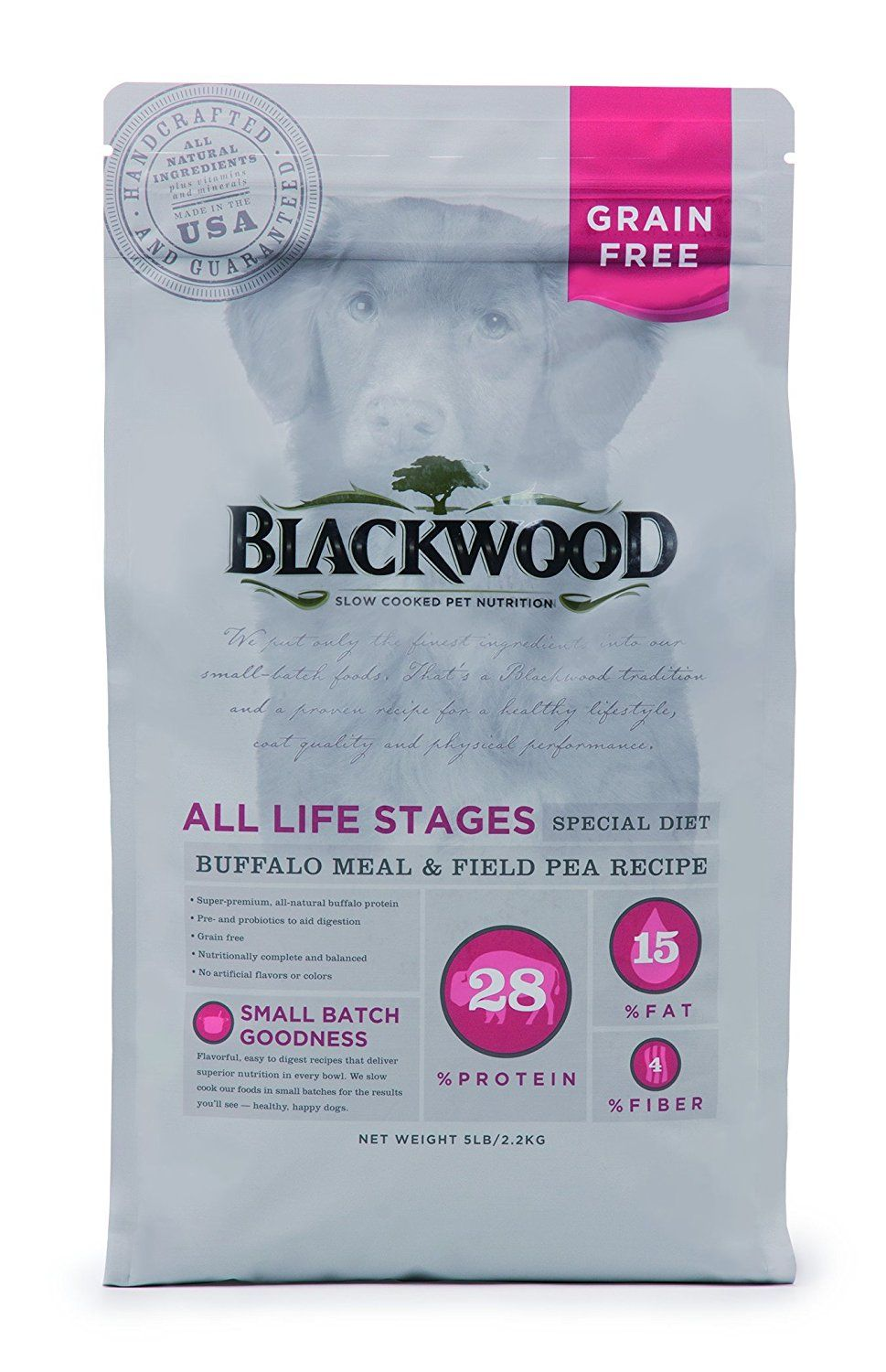 Blackwood all life stages special diet grain free