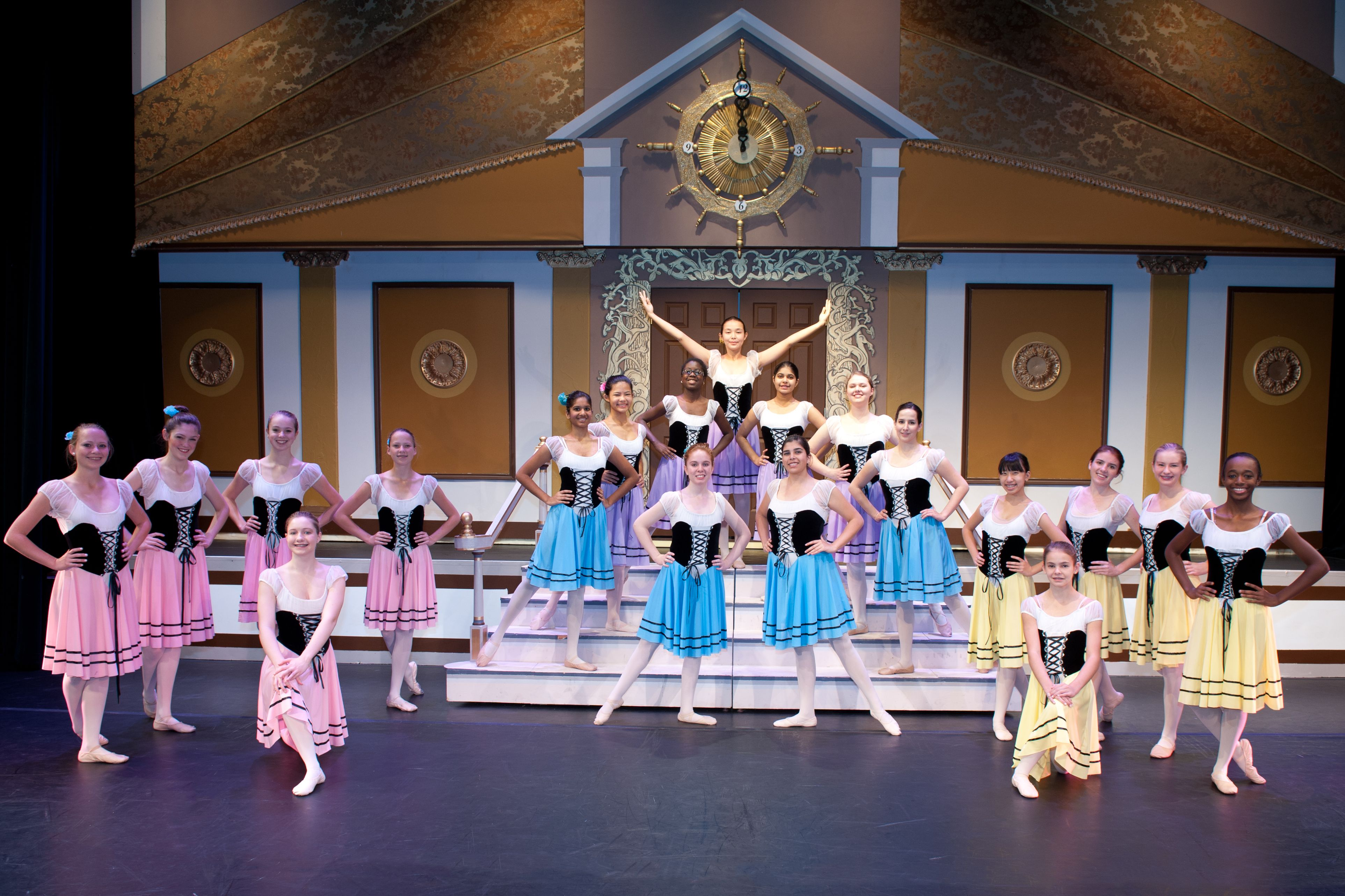 Upper School Dance students performed Cinderella