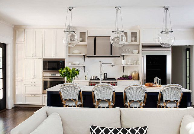 Transitional Kitchen Design #TransitionalKitchen Transitional