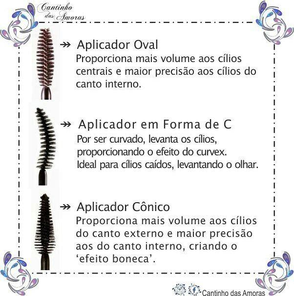 Post 2 amorinhas  !!! Lembrando que o post completo está no blog, não deixem de conferir!!!  http://cantinhodasamoras.com.br/escovinhas-dos-rimeis-para-que-servem-cada-tipo/