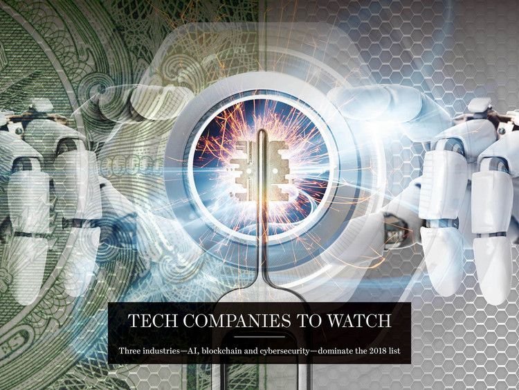 WSJ Top 25 Tech Companies to Watch 2018 — The Wall Street